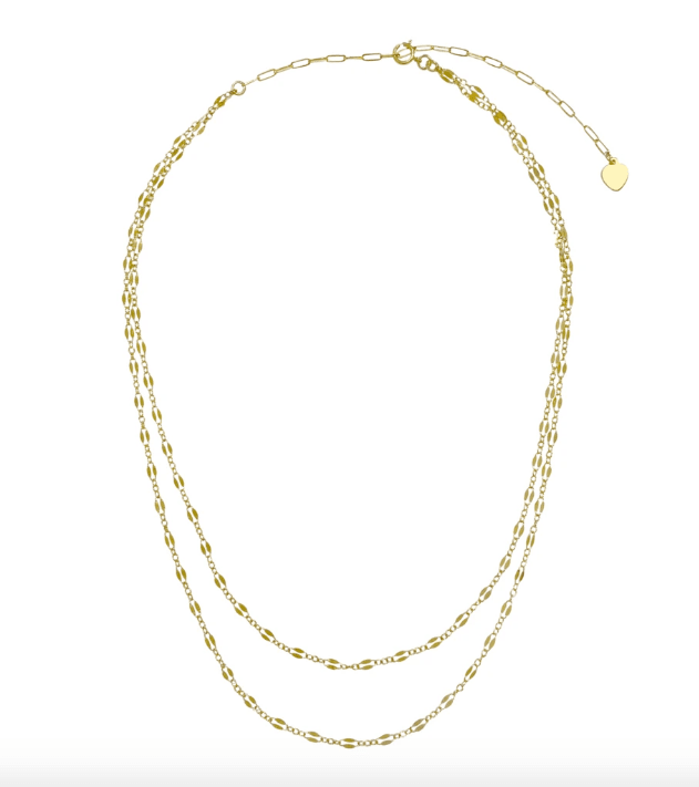 Misuzi Kendell Double Chain Necklace - Since I Found You