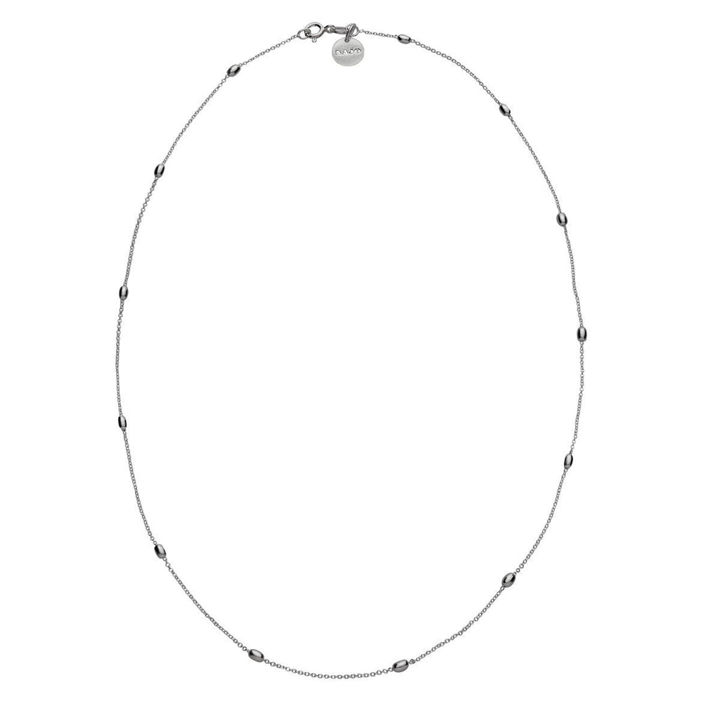 Najo like a breeze necklace silver - Since I Found You