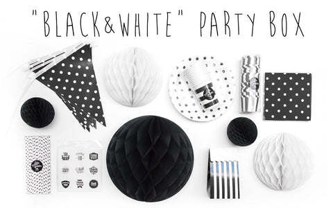 Black & White Party in a Box