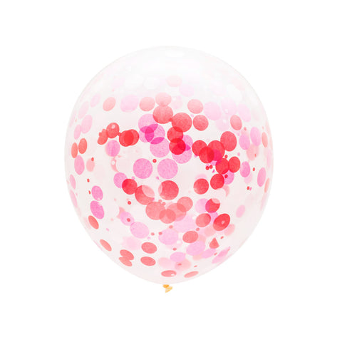 Sweetie Confetti Balloons
