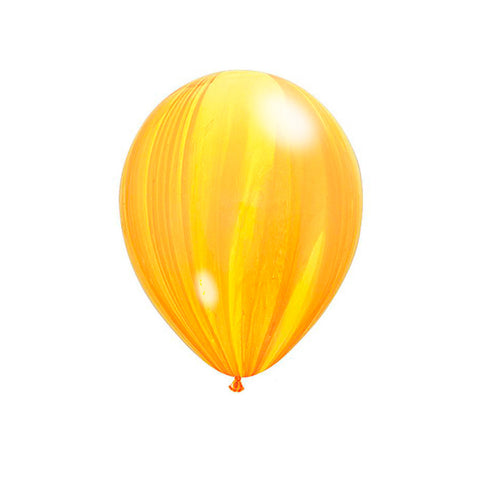 Yellow Marble Balloons