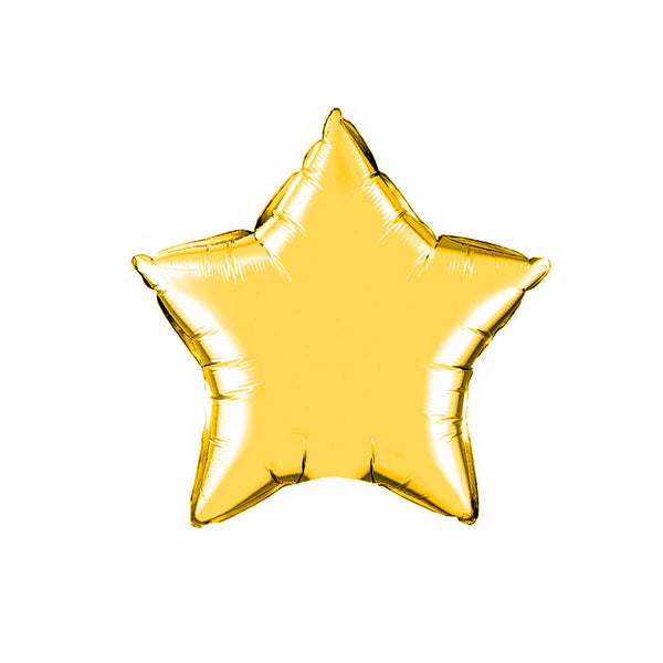 Gold Star balloons