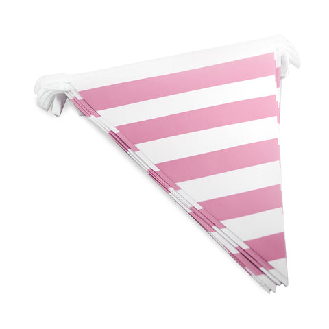 Pink Striped Bunting
