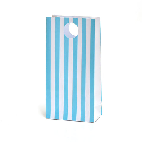 Blue Stripe Party Favour Bags