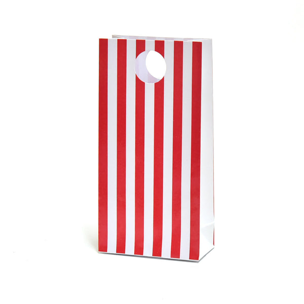 Red Stripe Party Favour Bags