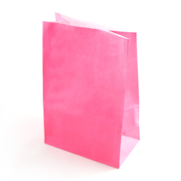 Pink Party Favour Bags