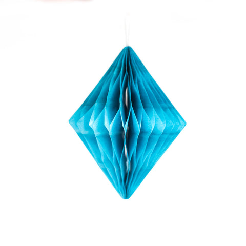 Blue Honeycomb Diamond