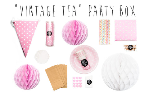 Vintage Tea Party in a Box