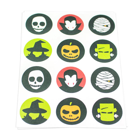Creature Theme Stickers