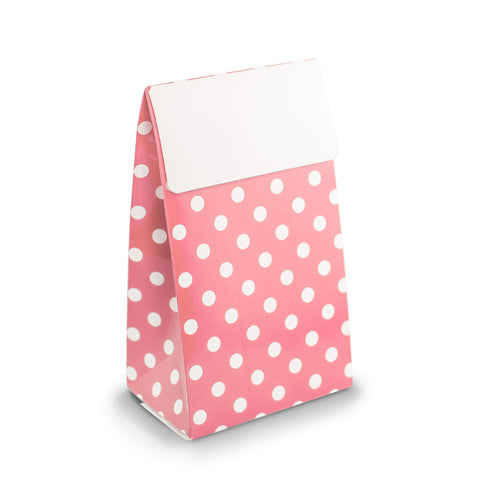 Pink Polkadot Party Favour Boxes