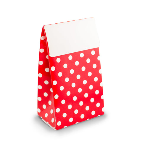 Red Dots Party Favour Boxes