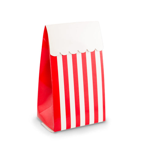 Red Stripe Party Favour Boxes