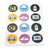 Hip Hop Theme Stickers