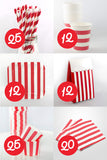 Striped Party Packs for 12 Little Monsters