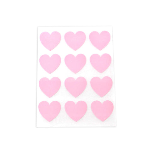 Pink Heart Stickers