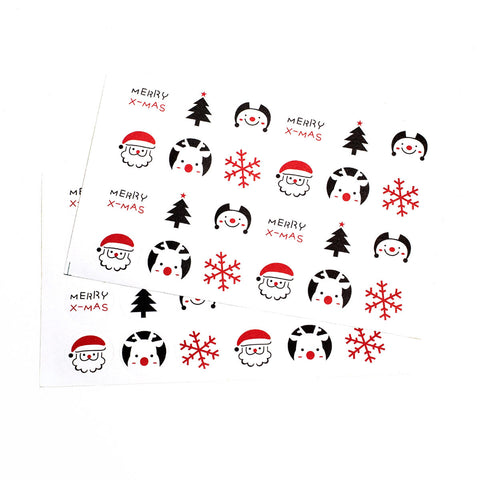 Xmas Theme Stickers