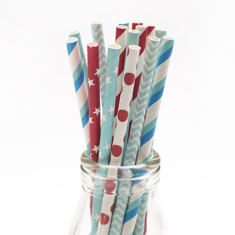 Festive Drinkies Straws