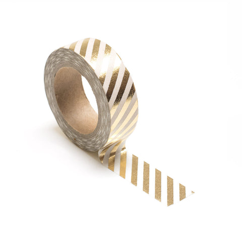 Gold Stripes Washi Tape