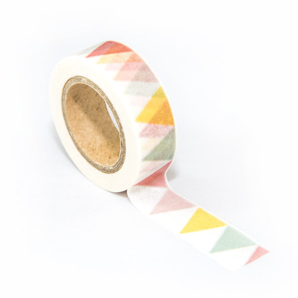 Multicolour Triangles Washi Tape