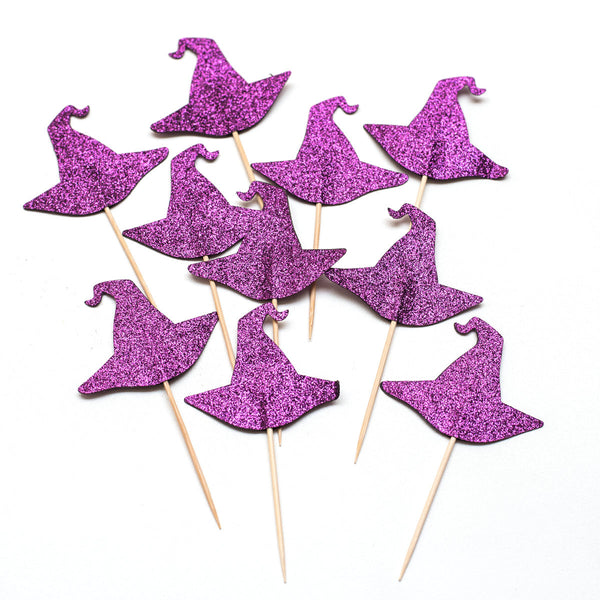 Witches Hats Cupcake Toppers