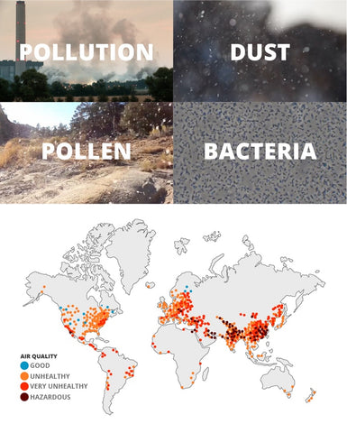world pollution status