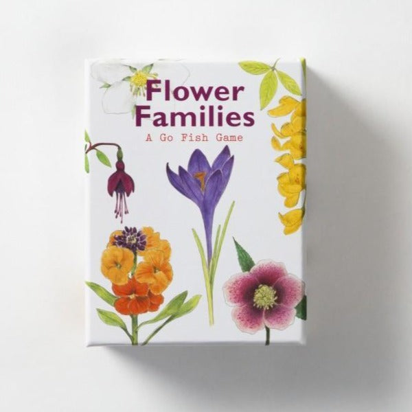 Flower Families  | Laurence King | A Go Fish Game