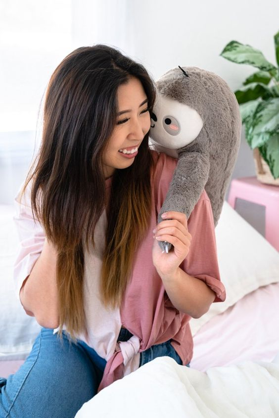 Sloan The Sloth Back Massager | Smoko | Plush Toy