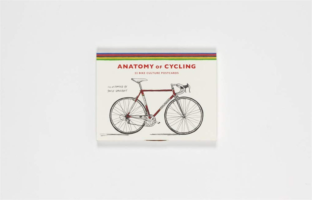 The Anatomy of Cycling | Laurence King | Bicycle Postcards