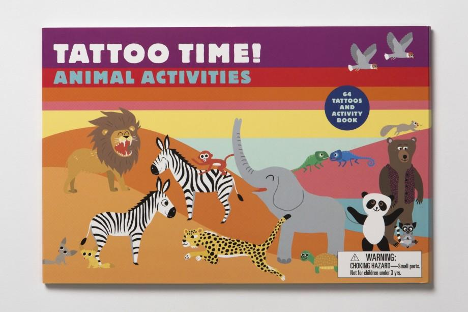 Tattoo Time | Laurence King | Activities Book
