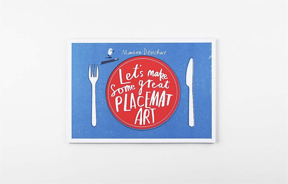 Let's Make Some Great Art Placemats | Laurence King | Activities Book