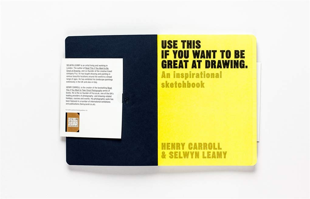 Use This if You Want to Take Great at Drawing | Laurence King | Self-help Sketch Book