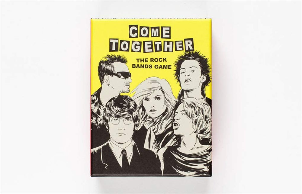 Come Together | Laurence King | Go fish Rock Bands Game Cards