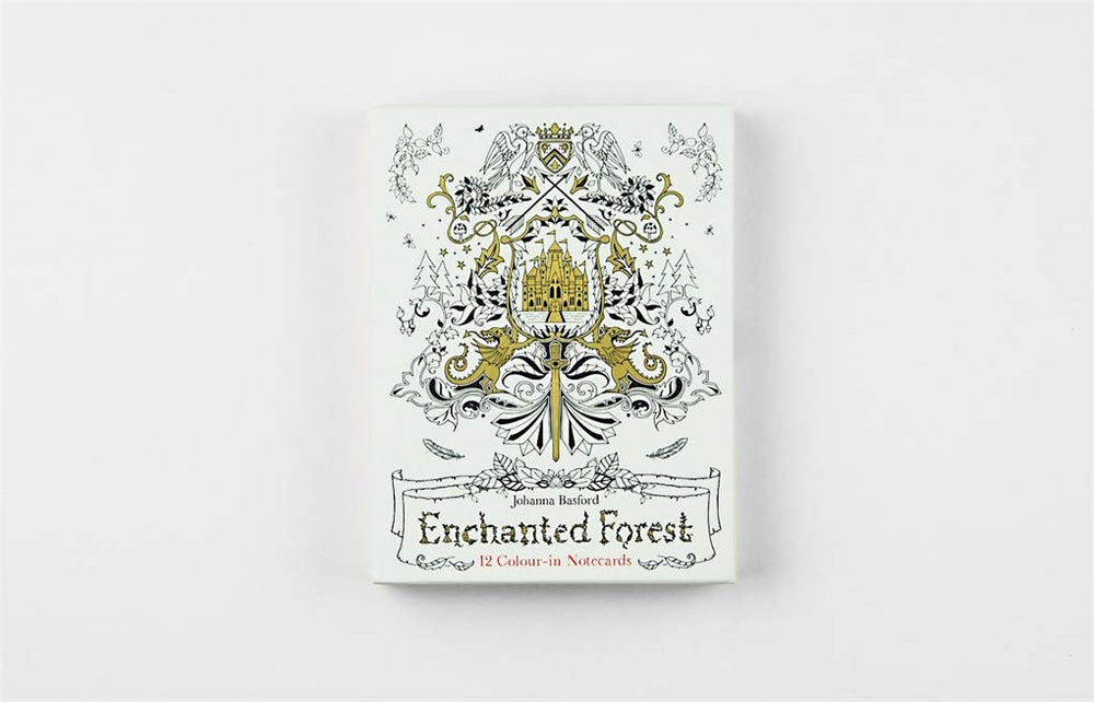 Enchanted Forest Notecards | Laurence King Publishing | Coloring