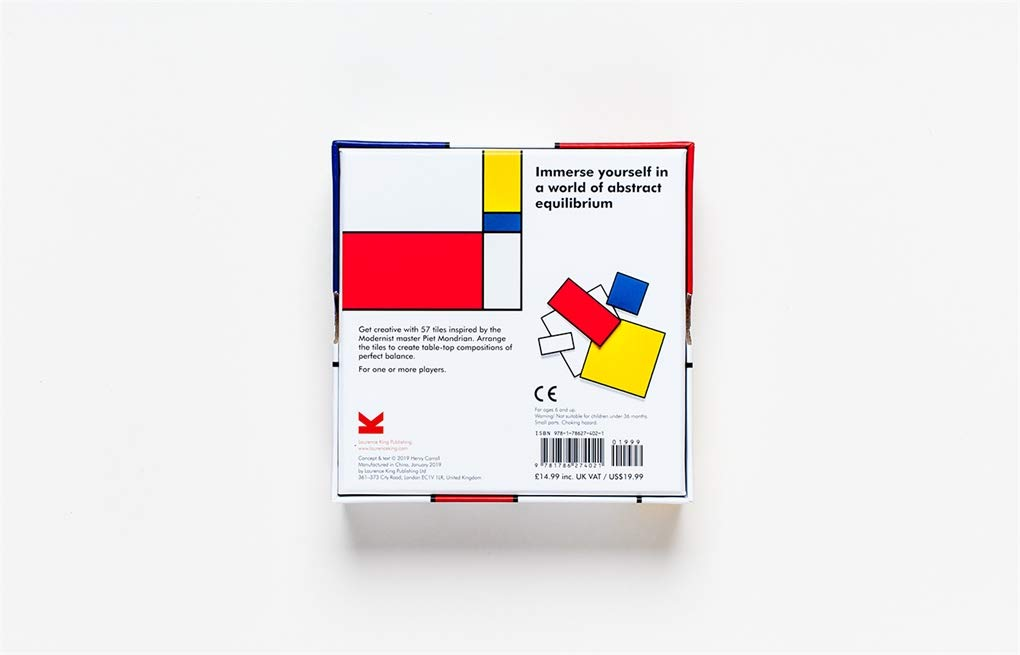 Make Your Own Mondrian | Laurence King | A Modern Art Puzzle