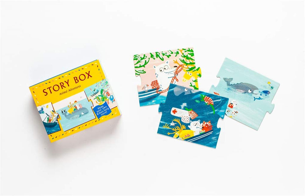 Story Box: Animal Adventures | Laurence King | DIY Storytelling