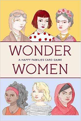 Wonder Women | Laurence King | Go Fish Game
