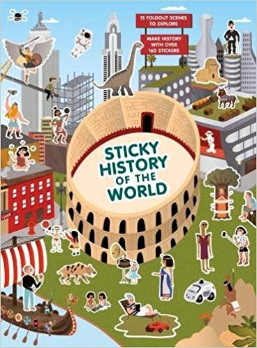 Sticky History of the World | Laurence King | Sticker Booklet