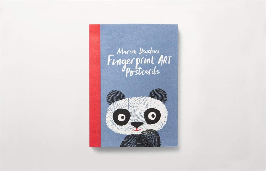 Fingerprint Art Postcards | Laurence King