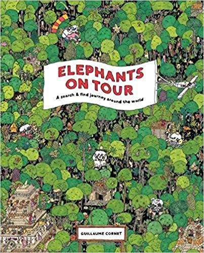 Elephants on Tour | Laurence King | Spotting Game