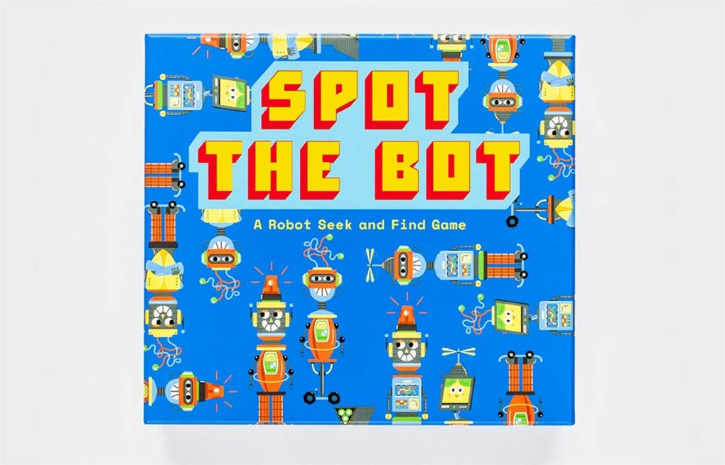 Spot the Bot | Laurence King | A Robot Seek and Find Game