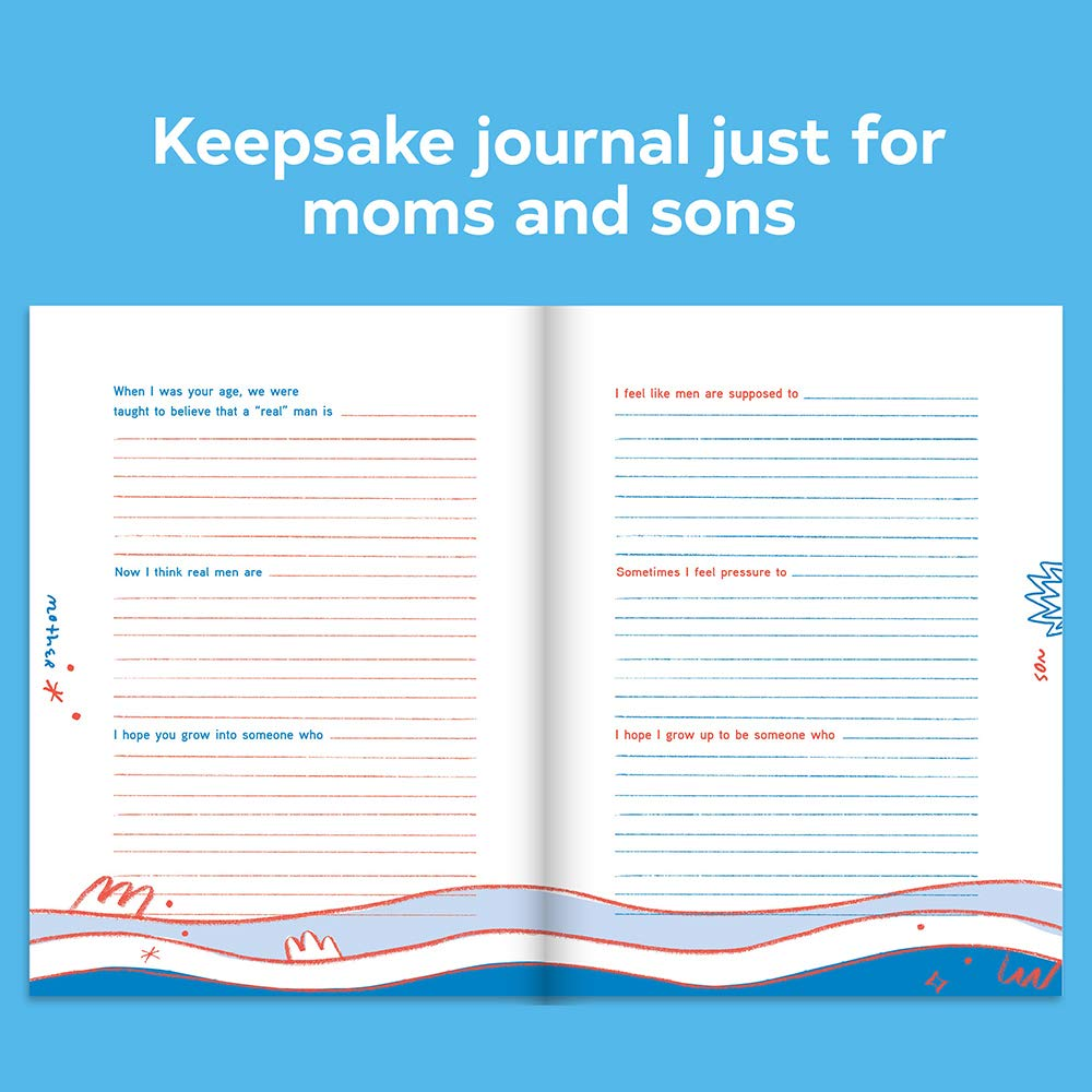 Just Between Us: Mother & Son | Chronicle Books | Keepsake Journal