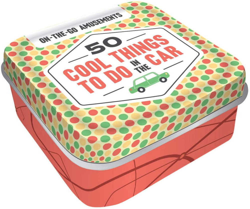 On The Go Amusement - 50 Things To Do | Chronicles Book | Screen-free Activities