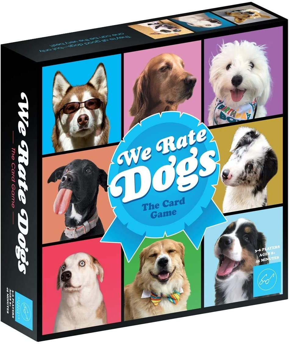 We Rate Dogs! The Card Game | Chronicles Book | Best in Show Action Cards