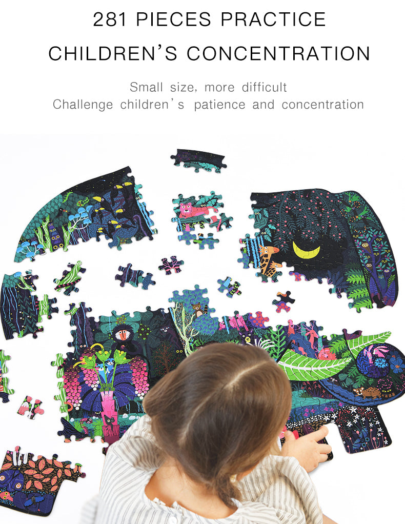 Elephant Dream Puzzle | Mideer | 280 Pieces Large Jigsaw Puzzle