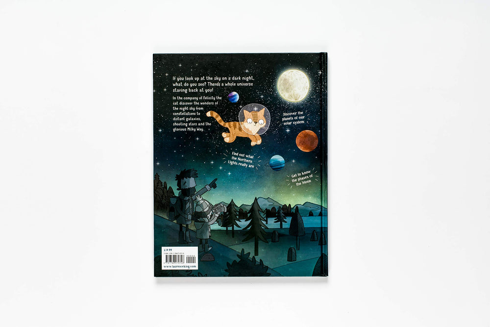 A Cat's Guide to the Night Sky  | Laurence King | Illustrated Book