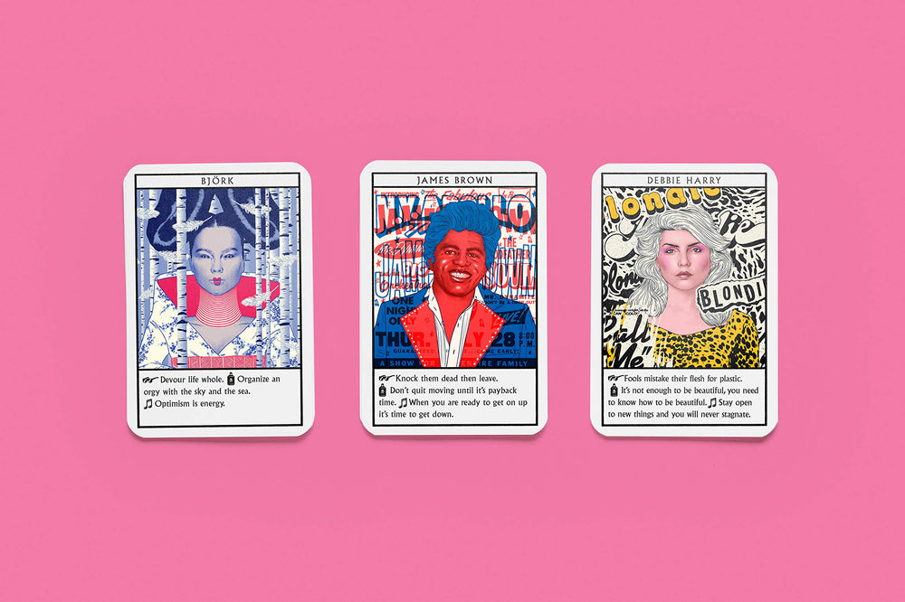 Music Oracles | Laurence King | Inspiration Card Game