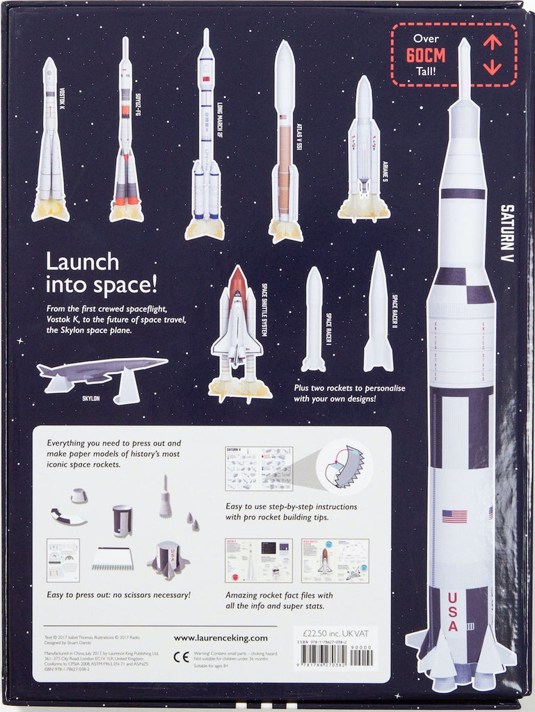 Space Racers Handicraft| Laurence King | Make Your Own Paper Rocket