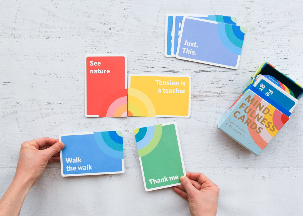 Mindfulness Cards | Chronicles Book | Activities Cards