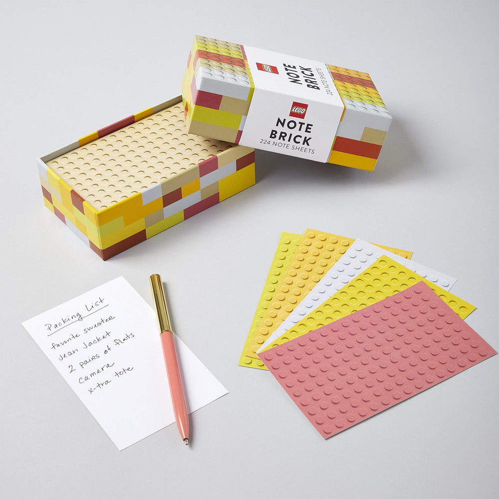 Note Brick | Lego | Colourful Note Sheets