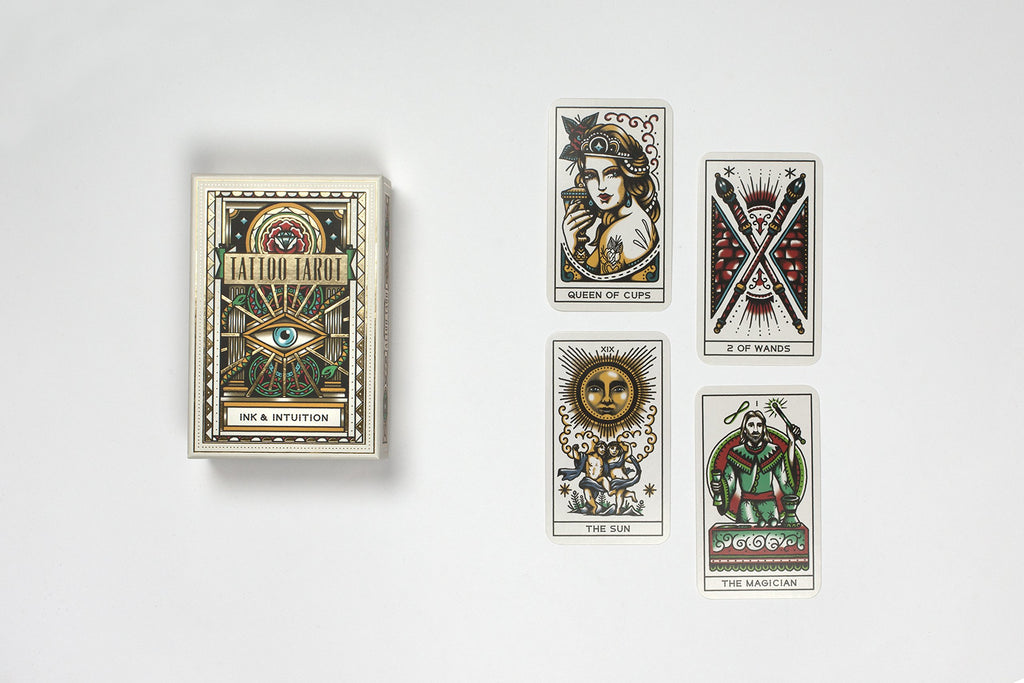 Tattoo Tarot | Laurence King | Tarot Deck